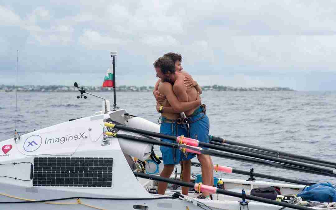 New world record: Bulgarian father and son cross the Atlantic in a self-made rowing boat